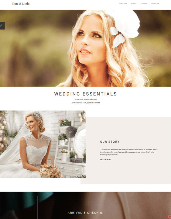 wedding joomla templates