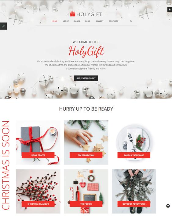 joomla templates for christmas websites