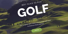best joomla templates golf clubs feature