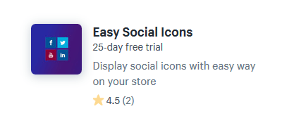 shopify apps for adding social media icons online store