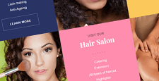 beauty salons spas wordpress themes feature