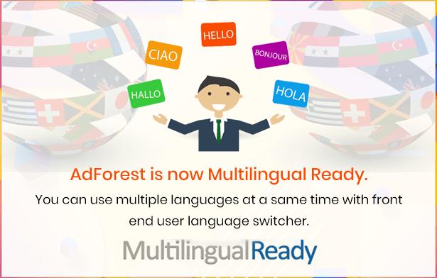 adforest classified multilingual