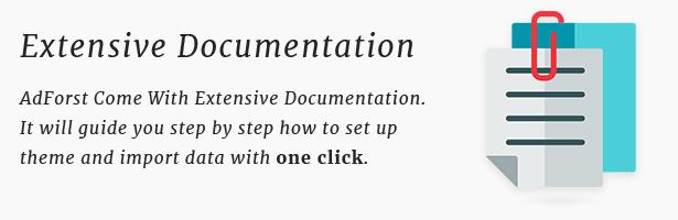 ads theme documentation