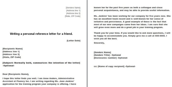 Personal Letter Of Recommendation Sample For A Friend from i1.wp.com