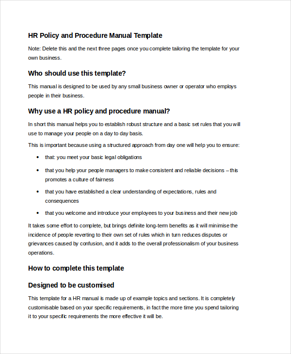Free User Manual Template Samples In Word Pdf Format  Template