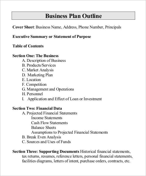Project outline template 10 free word excel pdf for How to create a proposal template in word
