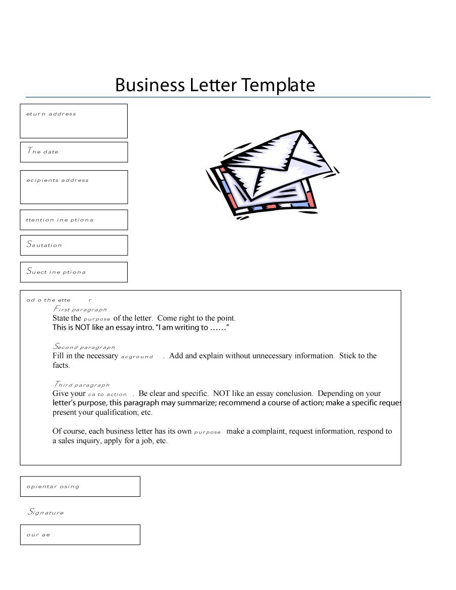 Formal business letter format templates sample example template formal business letter format template friedricerecipe Gallery