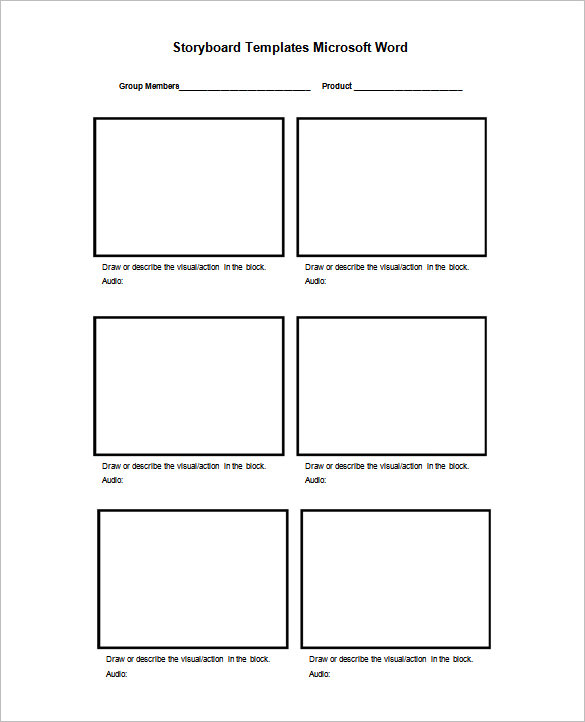 Storyboard Templates, Free Storyboard Templates, Printable Storyboard Templates, Blank Storyboard Templates, Video Storyboard Template, Project Storyboard Template, Animation Storyboard Template