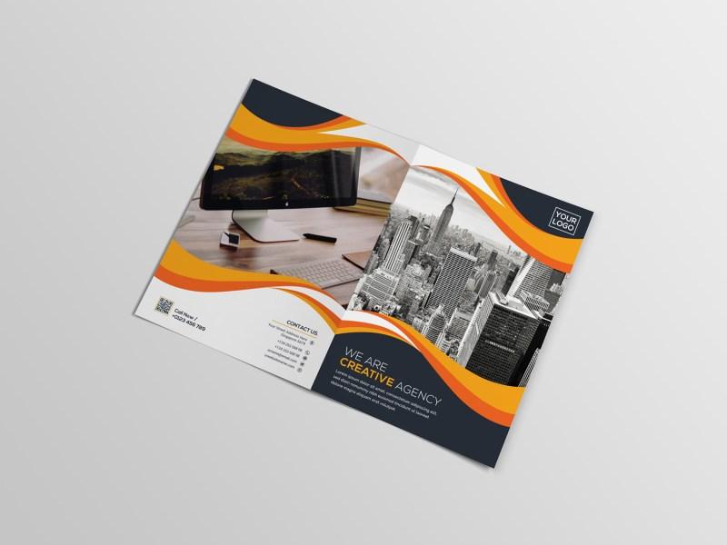 Bi Fold Creative Brochure Template