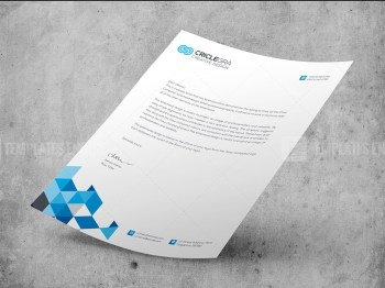 Corporate PSD Letterhead Templates