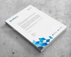Corporate PSD Letterhead Templates