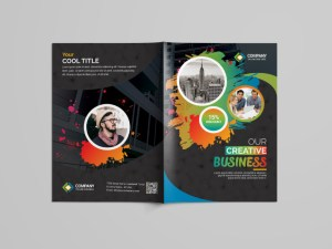 Premium Business Bi-Fold Brochure Design
