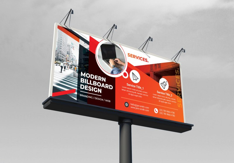 Creative Billboard Banner Design