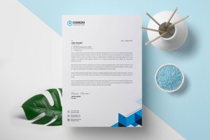 Sleek Letterhead Design