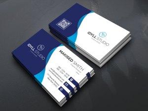 EPS Sleek Name Card Templates