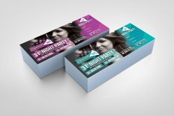 PSD Event Ticket Design