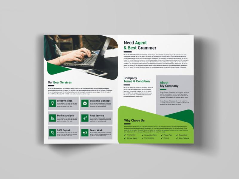 A Bi Fold Brochure Design