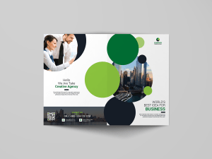 A Sleek Bi Fold Brochure