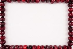 Cherry frame stock photo