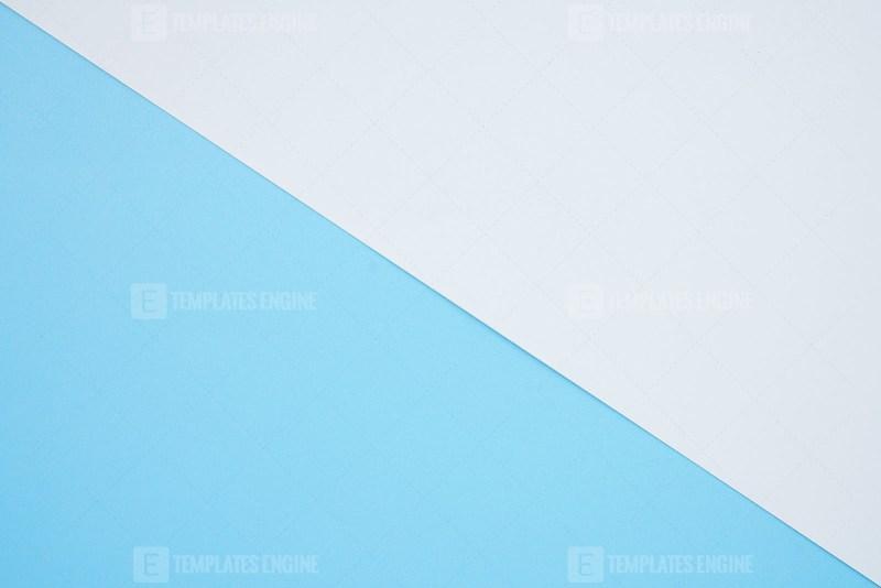 Paper blue empty background
