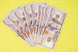 US Dollar financial concept