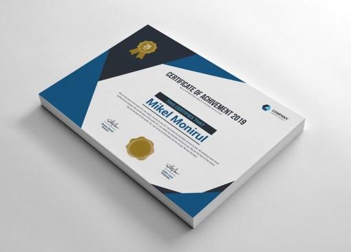 Classy Certificate
