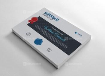 Contemporary Certificate Design