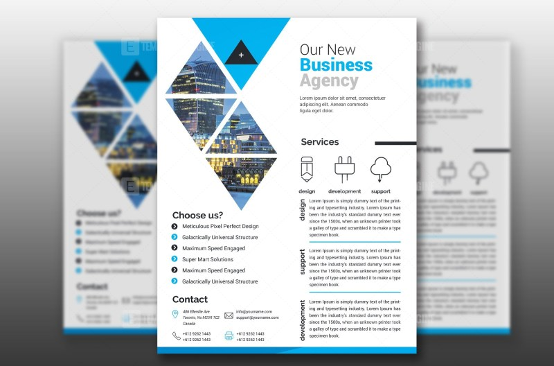 PSD Print Ready Flyer Template