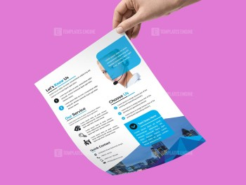 PSD Sleek Business Flyer