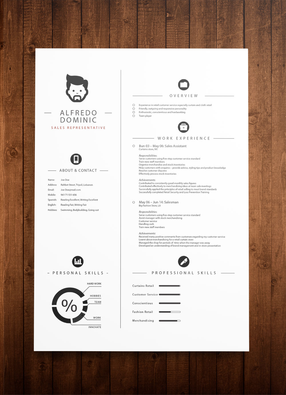 Free CV Template Download   Templates for CV free cv template  DOWNLOAD Now