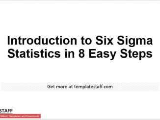 Introduction to Six Sigma Statistics