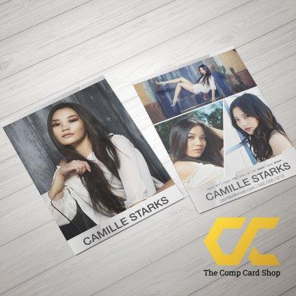 Edgy Comp Card