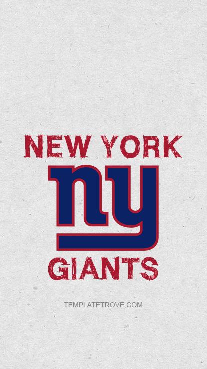 2018 2019 New York Giants Lock Screen Schedule For IPhone