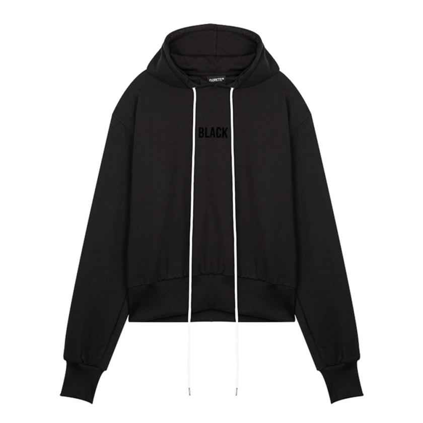 SWEAT CAPU BLACK