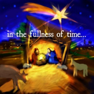 in the fullness of time...