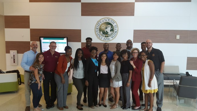SSS-STEM visits University of South Florida's Center for Advanced Medical Learning and Simulation (CAMLS)