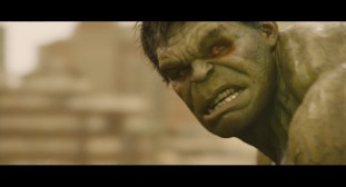 Is Hulk being controlled by the Scarlett Witch? via Marvel Studios (Avengers: Age of Ultron, Trailer #2)