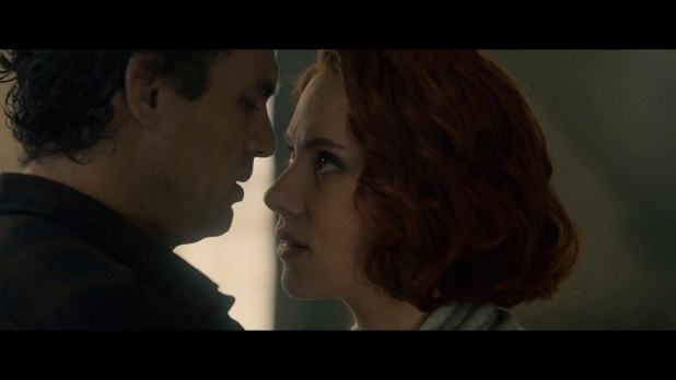 Romantically involved or mind controlled? via Marvel Studios (Avengers: Age of Ultron Trailer #3)