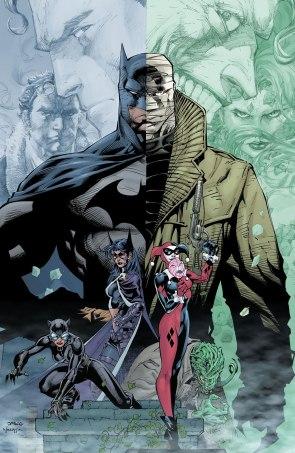 Batman Hush 608 Promotional Cover