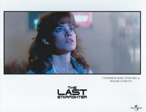 Catherine Mary Stewart as Maggie Gordon in The Last Starfighter - Image used with permission