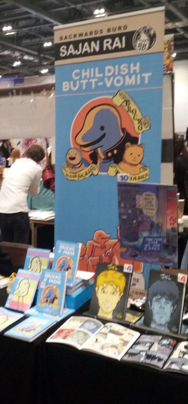 I got lost in rows of comic creators like this creatively named publication