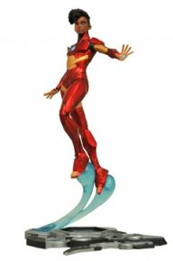 Marvel Gallery Ironheart Unmasked PVC Diorama - $45.00