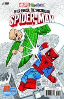 Peter Parker, the Spectacular Spider-Man #1 – Minimates Variant Cover - $5.00