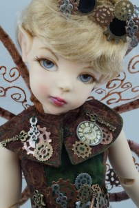 Steampunk Tink from my Twisted Tinks Collection by Bo Bergemann
