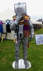 The coy Cyberman is Ashley from Kent