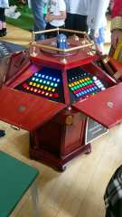 A replica of the 4th doctor's control room console