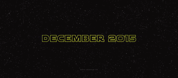 Release Date for The Force Awakens
