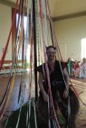 Wren guarding the maypole