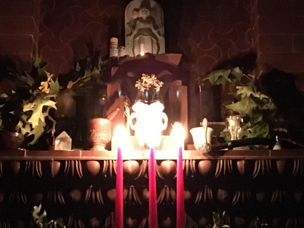 Yuletide Altar