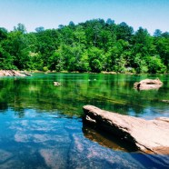 Perfect days sitting on the banks of the Chattahoochee River don't get much better.